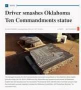 10 COMMANDMENTS BROKEN