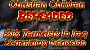 CHRISTIAN CHILDREN BEHEADED