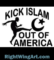 KICK ISLAM OUT OF AMERICA