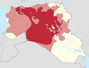 TERRITORY CONTROLLED BY ISIS
