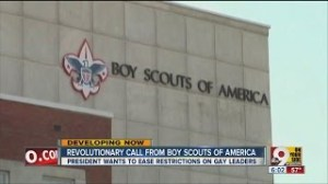 FAGGOTS IN BOY SCOUTS