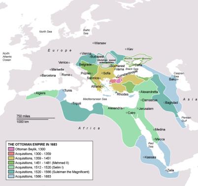 OTTOMAN EMPIRE MAP