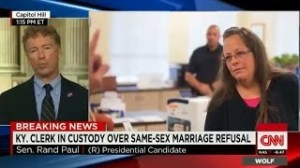 KENTUCKY CLERK JAILED