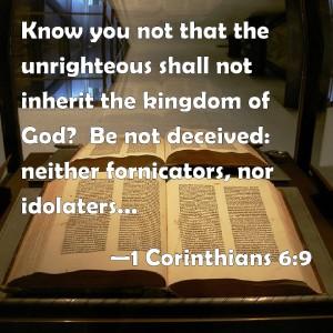 1 CORINTHIANS 6-9