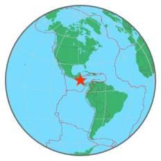 NICARAGUA - NEAR COAST OF 6-10-16