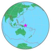 PAPUA NEW GUINEA - NEW IRELAND REGION 6-21-16