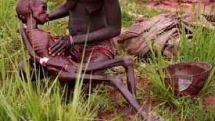 STARVING IN AFRICA
