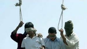BOYS HANGED IN IRAN