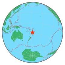 FIJI ISLANDS - SOUTH OF 8-12-16