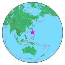 JAPAN REGION - VOLCANO ISLANDS - 8-4-16