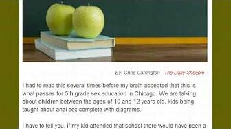 SODOMY TAUGHT IN PUBLIC SCHOOLS