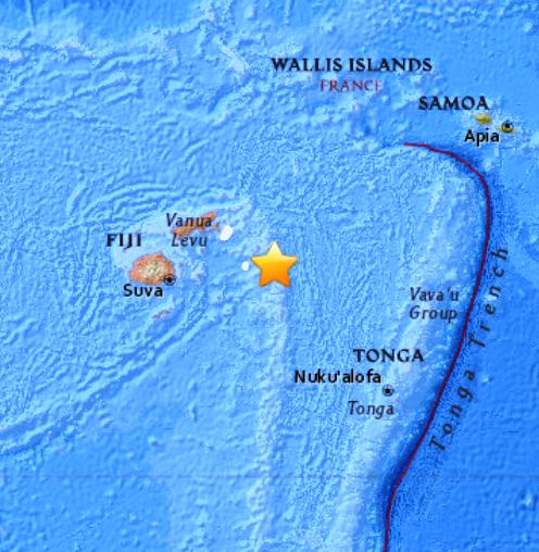FIJI ISLANDS - 11-7-17