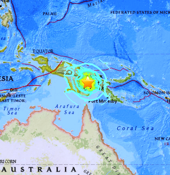 PAPUA NEW GUINEA - 2-25-18