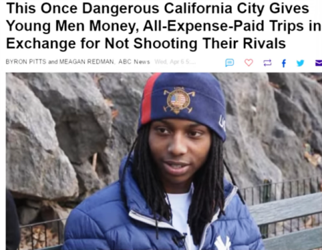 MONEY TO GANGS