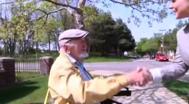 OLD MAN ON THE CORNER
