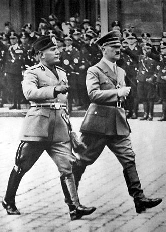 MUSSOLINI AND HITLER - PROUD