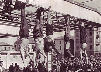 MUSSOLINI'S END
