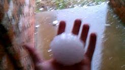 GIANT HAIL TEXAS