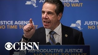 ABORTION GOVERNOR ANDREW CUOMO