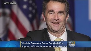 ABORTION GOVERNOR RALPH NORTHAM