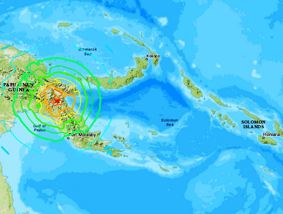 PAPUA NEW GUINEA - 5-6-19