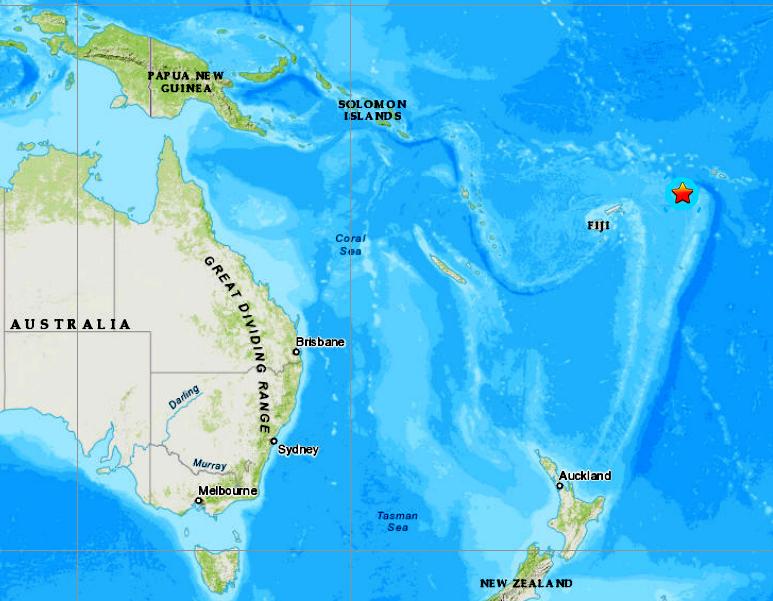TONGA ISLANDS - 12-6-19
