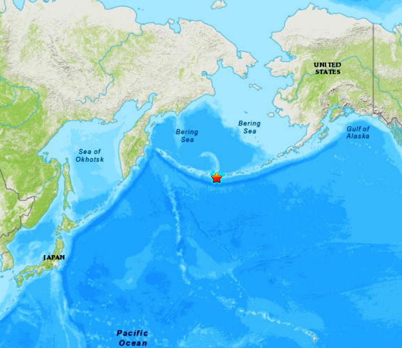 ALEUTIAN ISLANDS - 1-26-20