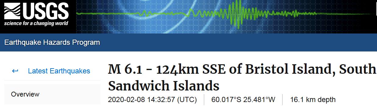 2 SOUTH SANDWICH ISLANDS - 2-8-20