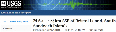 2 SOUTH SANDWICH ISLANDS - 2-8-20