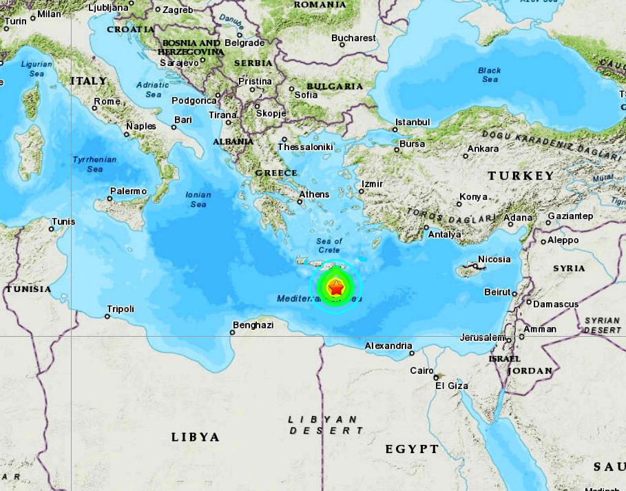 MEDITERRANEAN SEA - 5-2-20