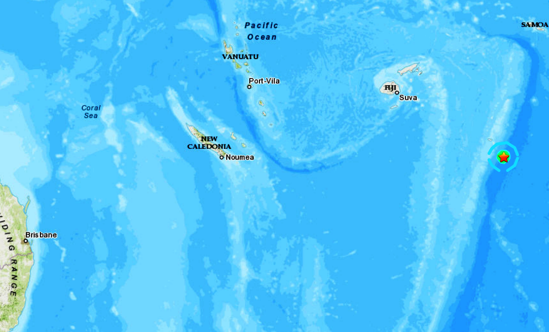 TONGA ISLANDS REGION - 5-28-20