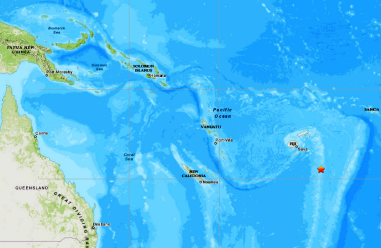 FIJI ISLANDS REGION - 7-21-20
