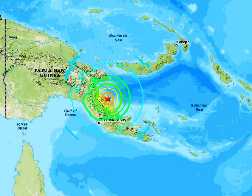 PAPUA NEW GUINEA - 7-17-20