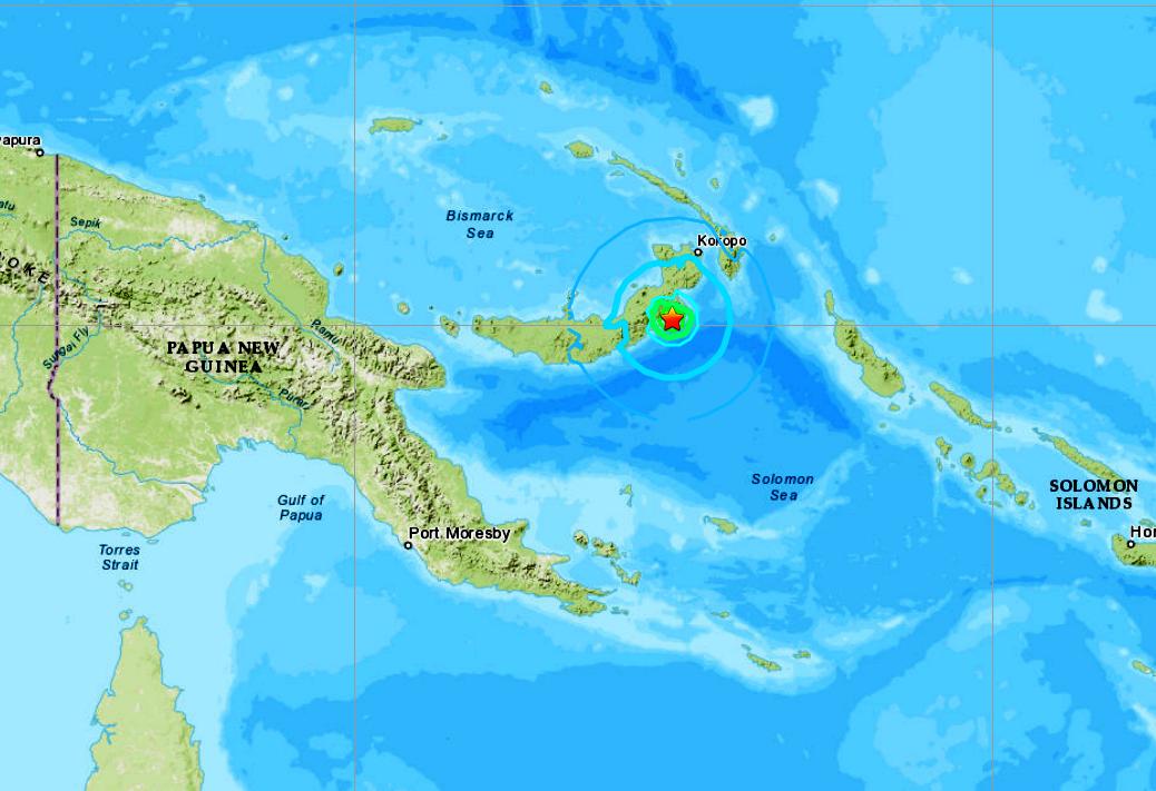 PAPUA NEW GUINEA - 8-25-20