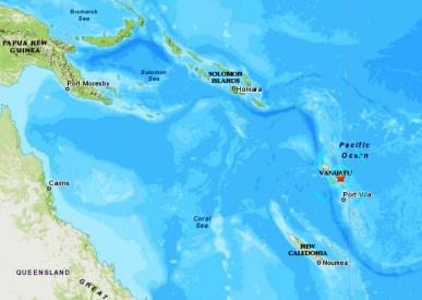 VANUATU ISLANDS - 8-5-20