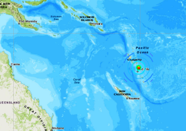 VANUATU ISLANDS - 9-7-20
