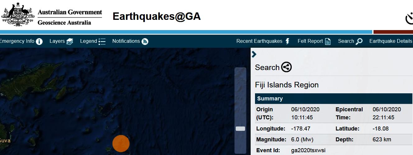 2 FIJI ISLANDS - 10-6-20