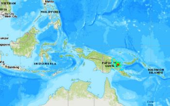 PAPUA NEW GUINEA - 10-8-20