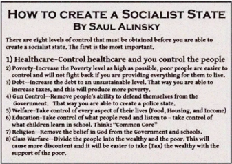 SAUL ALINSKY RULES FOR RADICALS