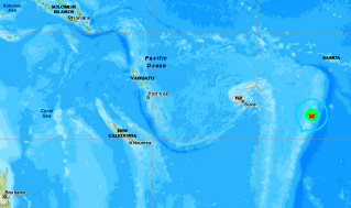 TONGA ISLANDS - 10-1-20