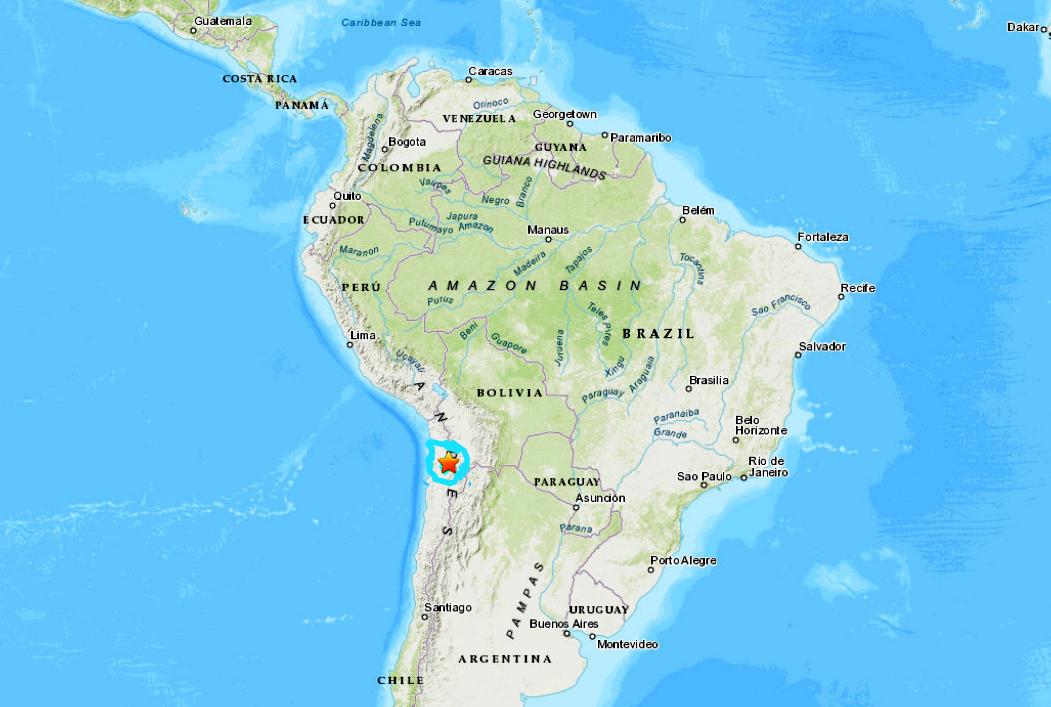 CHILE-BOLIVIA BORDER - 12-14-20