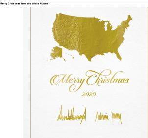 WH CHRISTMAS CARD