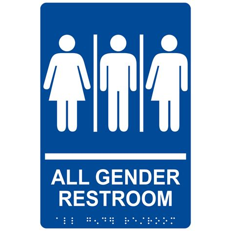 ALL GENDER RESTROOMS compliancesigns
