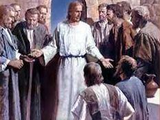 JESUS INSTRUCTING THE DISCIPLES