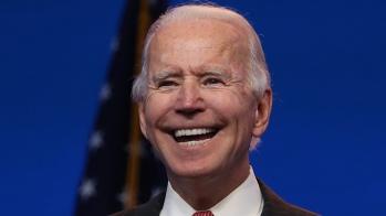 JOE BIDEN SMILING Photo - collapse.news
