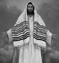 JESUS WEARING A TALIT