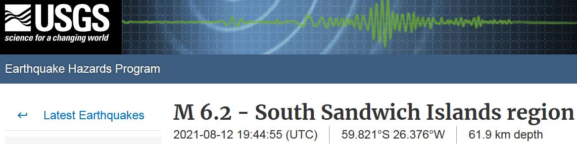 4 SANDWICH ISLANDS - 8-12-21