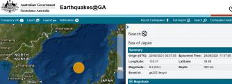 1 SEA OF JAPAN - 9-29-21